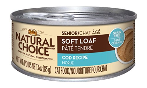 Nutro Senior Cat Food Soft Loaf Cod Recipe