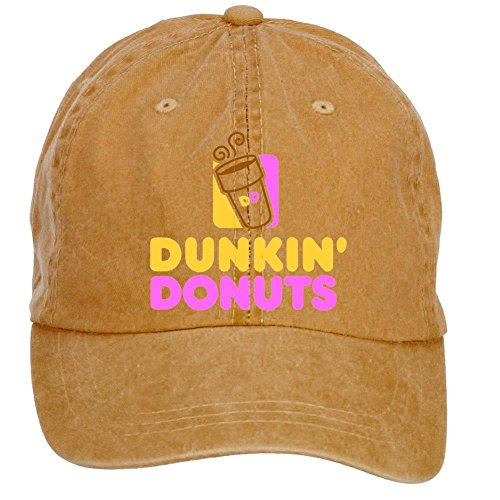 desig-creato-adjustable-dunkin-donuts-wallpaper-customized-baseball-caps-for-unisex-brown-one-size