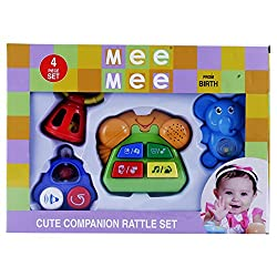 Mee Mee Cute Companion Rattle Set