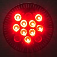 High Power 12 Watt PAR38 Dimmable 660nm RED and 450 nm Blue LED Grow Light, 1325RB