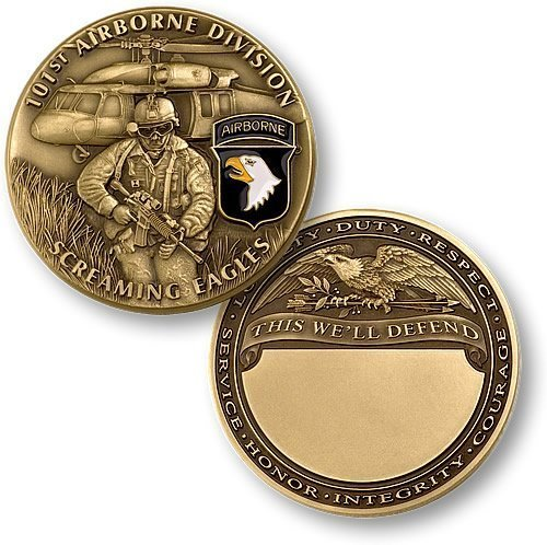 U.S. Army 101st Airborne Division Challenge Coin - 1