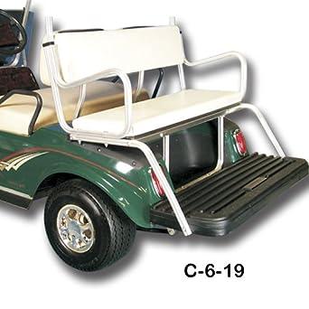 Black EZ-GO Golf Cart-GO Golf Cart GO 8693 4 Passenger Seat Kit