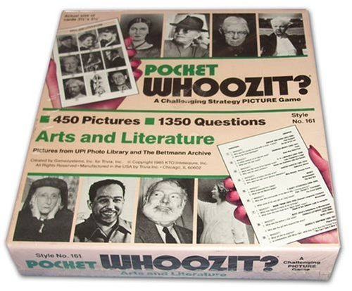 Pocket Whoozit? Arts and Literature