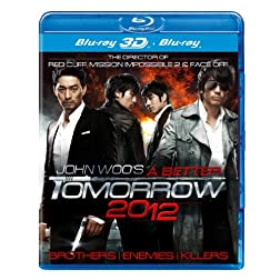 A Better Tomorrow 2012 3D - REGION FREE [Blu-ray 3D + Blu-ray]