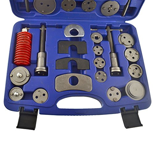 35pc Left & Right Hand Brake Calliper / Calliper Wind Back Tool Piston Kit AU003