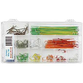 Elenco  350 Piece Pre-formed Jumper Wire Kit
