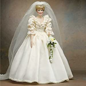 Princess Diana Vinyl Wedding Doll By Franklin Mint Toys Games