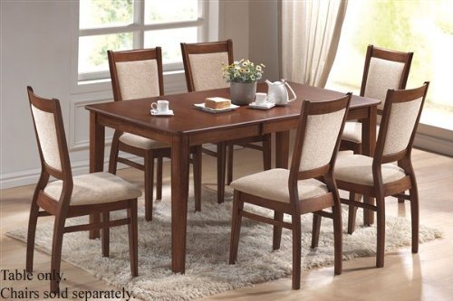 Dining Table Contemporary Style Cherry Finish