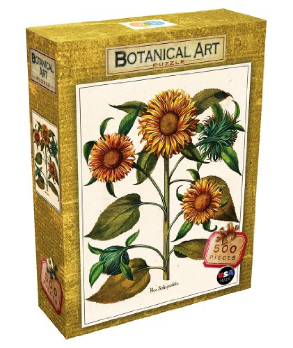 DB & Company Sunflower Botanical Puzzle (500-Piece)