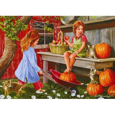 Pumpkin Girls 1000 Piece Puzzle
