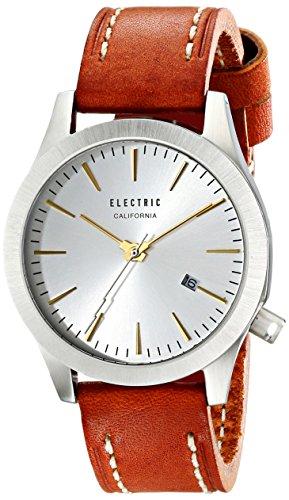 Electric Unisex Fw03 Analog Display Japanese Quartz Brown Watch