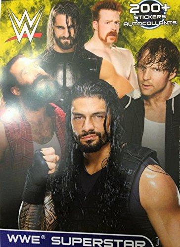 WWE Superstar Sticker Book 200+ Stickers (Wwe Superstar Edge compare prices)