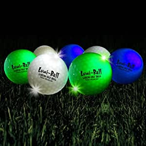 Lumiball LED Lighted Golf Balls
