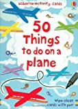 Leonie Pratt 50 Things to Do on a Plane (Usborne Activity Cards)