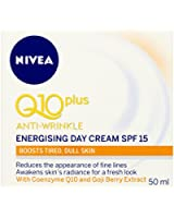 NIVEA Q10 Plus Anti-Wrinkle Energising Day Cream SPF 15 - 50 ml