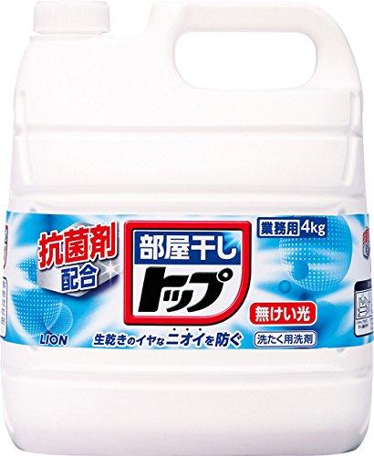 部屋干しトップ 洗濯洗剤 液体 4kg