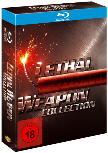 Lethal Weapon 1-4 - Collection [Blu-ray] hier kaufen