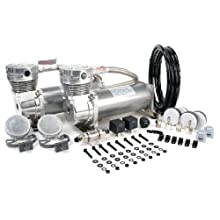 VIAIR 480C 200 PSI Dual Performance Value Pack - Pewter