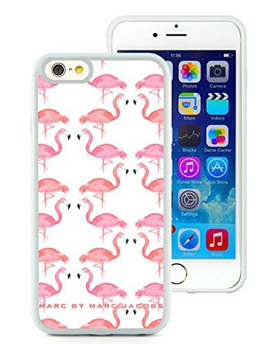 iPhone 6 4.7 Inch TPU Case ,Unique And Fashionable Designed Case With Marc by Marc Jacobs 06 White For iPhone 6 Cover Phone Case