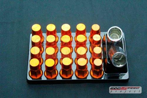 4 x Locking Wheels Nuts Locks for Nissan GT-R Skyline M12 x 1.25