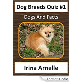 Dog Breeds Quiz #1 - Kids Activity Book (Dog Breeds for Kids) (English Edition)