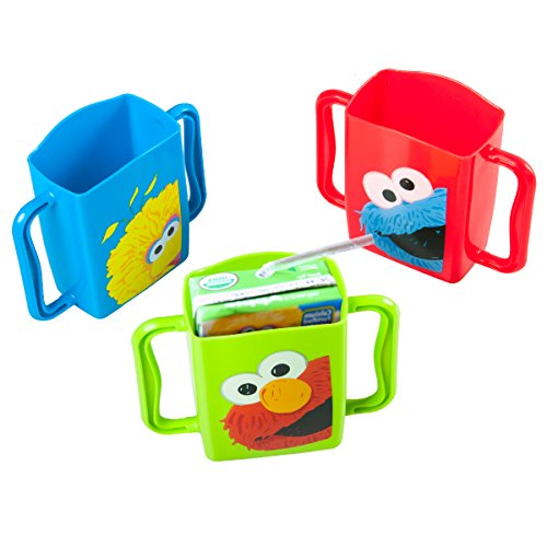 Evriholder Sesame Street Juice Box Holders, Elmo Big Bird & Cookie Monster (Microfridge Microwave Plate compare prices)