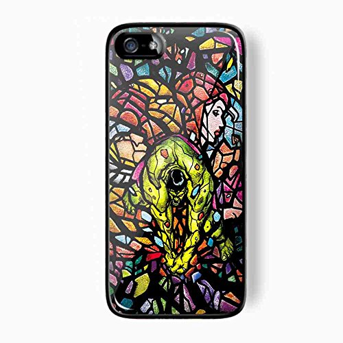 hulk avenger marvel stained glass for iPhone 5/ 5s Black Case