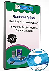 Quantitative Aptitude Useful for All Competitive Exam, Important Objective Question Bank with Answer (DVD)