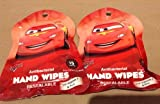 Disney Pixar Cars Hand Wipes 2-pack (15 Wipes Per Pack)