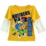 "Nick Jr. Team Umizoomi Boys Geo ""Numbers Rock"" Long Sleeve T-Shirt"