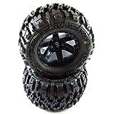 Proline 117012 Trencher 2.8 All Terrain Tires Mounted For Jato Nitro Stampede