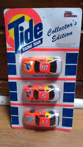 Racing Champions Tide Racing Team Cars 3 Pk. Darrell Waltrip # 17 (1987-1990) Ricky...