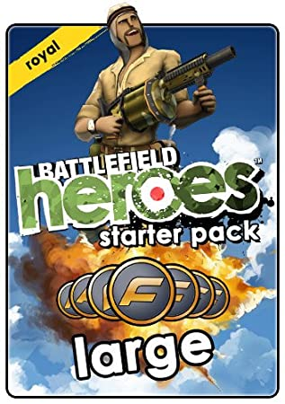 Battlefield Heroes Royal Army Large Starter Pack  [Online Game Code]