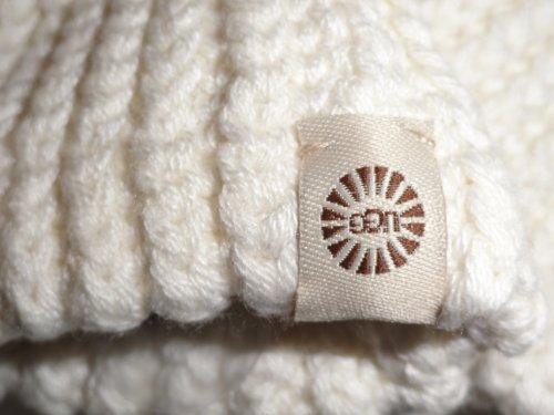 UGGUGG Australia Womens Long Knit Gloves Ivory