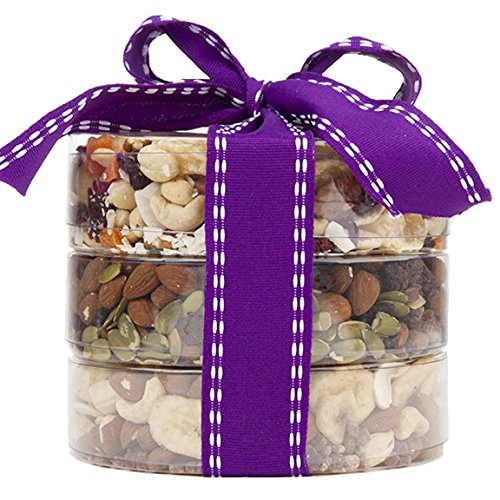 The Original Trail Mix Tower, Fruit and Nuts Gift, Perfect as a Thank You Gift or for Any Occasion, Small-Batch Kettle Roasted For Superior Freshness, Nuts Never Tasted This Good