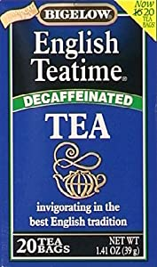 Bigelow Decaf English Teatime 20 Count, Pack Of 6 from Bigelow