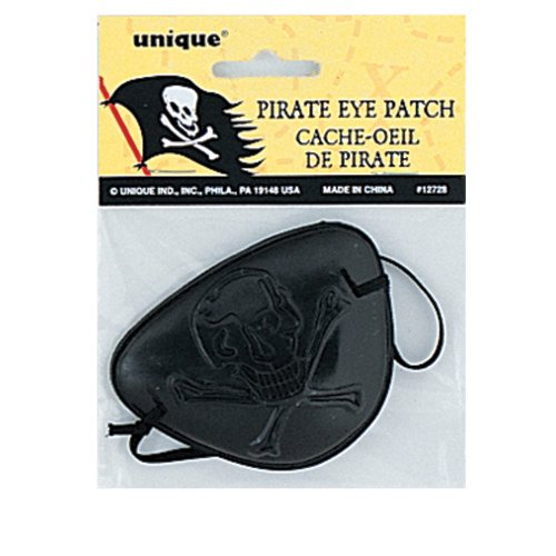 Pirate Eye Patch Party Favor