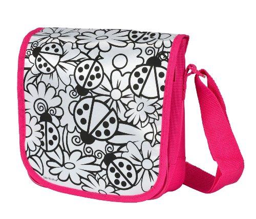 Simba Simba Color Me Mine Messenger Bag, Pink (Multicolor)