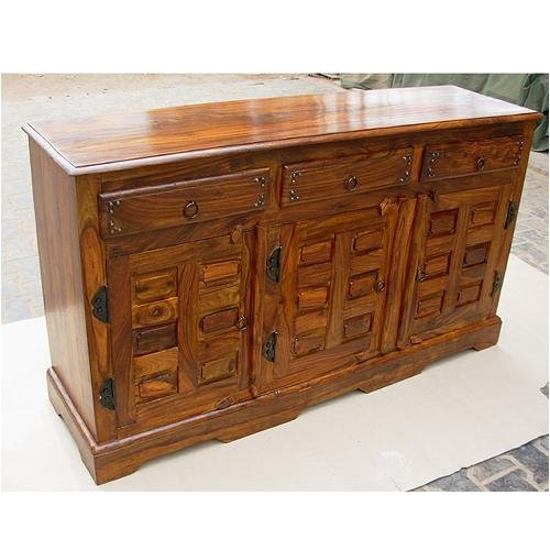 Buy Low Price sierralivingconcepts Wood Country Buffet Sideboard Storage Cabinet Table NEW (B000Z6PXP6)