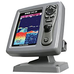 Si tex cvs 126 dual frequency color echo sounder + $150