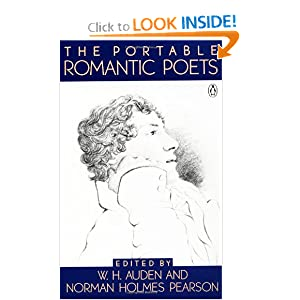 The Portable Romantic Poets W. H. Auden and Norman Holmes Pearson