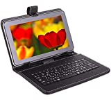 I KALL N1(1+16GB) Dual Sim Calling 8 Inch Display 4G Volte Supported Calling Tablet With Keyboard- Golden