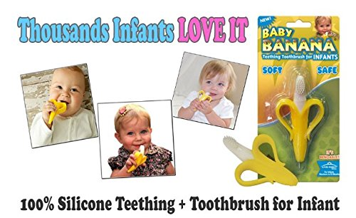 Baby Banana Teether front-159601