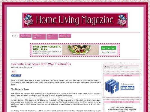 Home Living Magazine