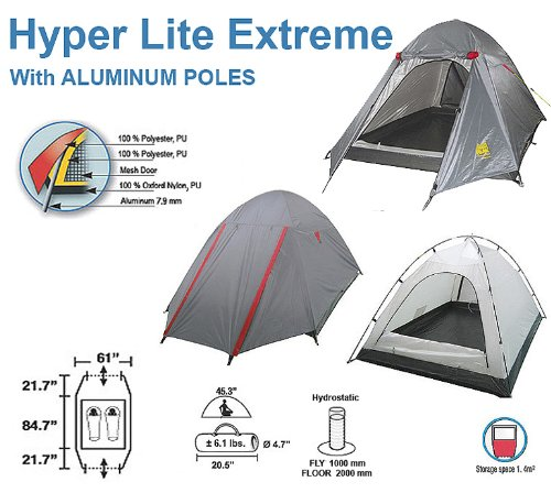 HIGH PEAK South Col 4 Season Backpacking Tent 3 person 9.7 ...