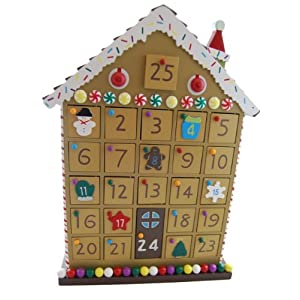 Gisela Graham Gingerbread House Advent Calendar