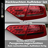 Rückleuchten Tönungsfolie Dark Passend zugeschn für Audi A5 B8 LED Xenon Vfl