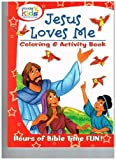 "Jesus Loves me Coloring & Activity Book from Wonder Kids ""Share the wonder"". Hours of Bible time fun, coloring, word searches, and games."