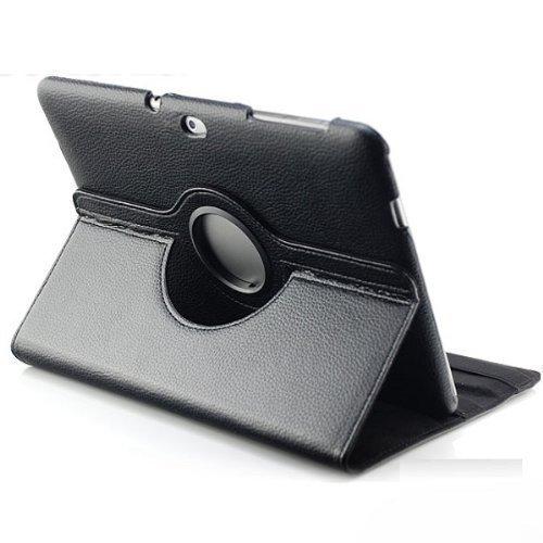 Saxonia Samsung Galaxy Tab 10.1N Hülle If it happens Tablet Tasche Schutzhülle (360°) Cover Premium Qualität Schwarz