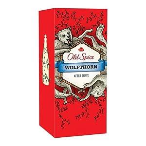 Old Spice After Shave Wolfthorn, 1er Pack (1 x 100 ml)